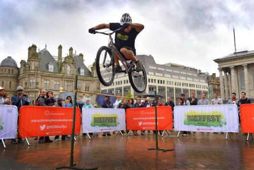 BikeFest Launch Birmingham