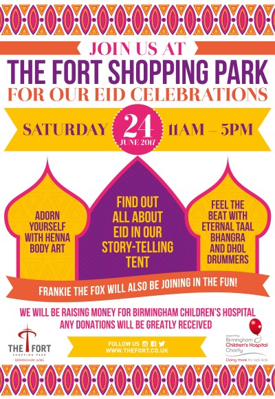 Celebrate Eid at The Fort Shopping Park