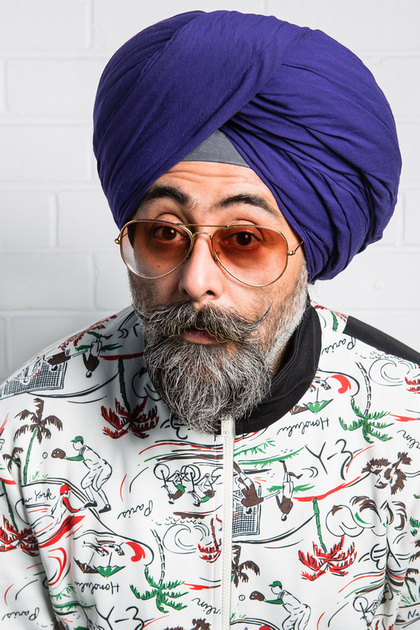 Hardeep Singh Kohli - Big Mouth Strikes Again - PRINT SIZE - Credit Paul JOhnston Copper Mango (1)[1]