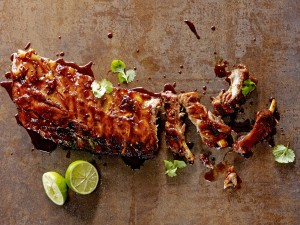 Sweet Spicy Sticky Ribs