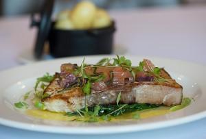 Swordfish Steak with Sauce Vierge
