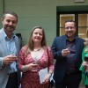Wine tasters enjoy first glass travel