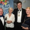 Big Art supporters party