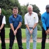 Golfers in swing for charity