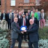 Honours shared in annual golf battle