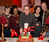 Leading Ladies step on it in Red Shoes