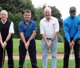 Golfers in swing for charity