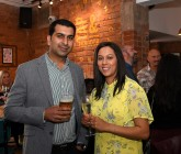 Fizz and fun at first anniversary