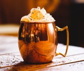 Spiced rum hot chocolate